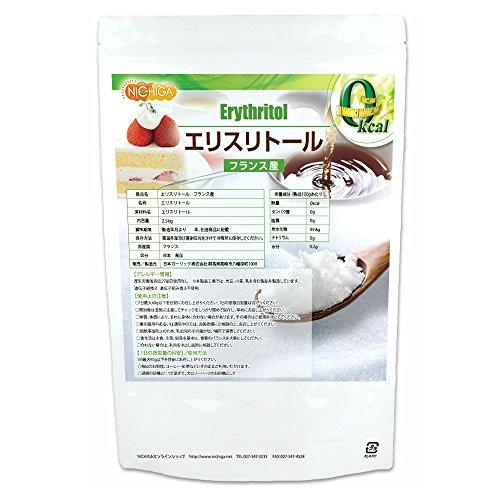 フランス産 エリスリトール2.5kg 遺伝子組み換え材料不使用 カロリーゼロ 天然甘味料 [02] NICHIGA(ニチガ)