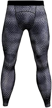 Men's Sports Tights, Compression Training, Compression, Inner Wear, Quick Drying, Cooling Sensation, UV Pr