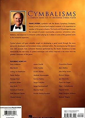 クラシック・シンバル教則本 「シンバリズム / CYMBALISMS」 フランク・エプシュタイン著 CD付 【直輸入版】