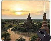 滑り止めのゴム製賭博のマウスパッド、ミャンマーの引用の仏像の個人化された長方形の賭博のマウスパッド