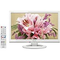 シャープ 19V型 ハイビジョン 液晶 テレビ AQUOS LC-19K30-W 外付HDD対応(裏番組録画) ホワイト