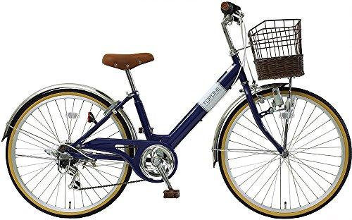 子供用自転車 24インチ シマノ6段変速 ステンレス泥除け ...
