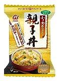 【 アマノフーズ フリーズドライ どんぶり 】 親子丼 4食 セット ( 化学調味料 無添加 )『 フリーズドライ ねぎ 5g付き 』