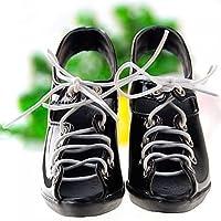 ドール BJDドール  ドールフィギュア BJD専用ブーツ 専用靴 シューズ ひも締め スケール1/3 ブラック