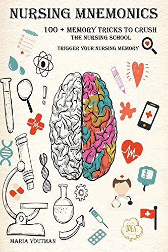Download NURSING MNEMONICS: 100 + Memory Tricks to Crush the Nursing School & Trigger Your Nursing Memory 1095945947