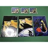 松本零士 銀河鉄道999 マグネット3枚 ポストカード3種
