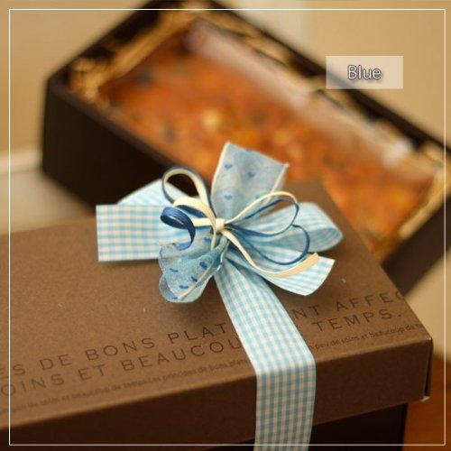 季節のオレンジとレーズンとチョコとナッツのパウンドケーキのギフトBOX-ブルーリボン-(焼き菓子)