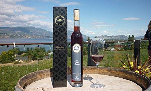 <極上スイーツワイン>【オーガニック農法ワイン】カナダ産 赤アイスワイン シラー 2011年産 (375ml) ★専用化粧箱付
