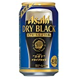 アサヒ スーパードライ ドライブラック 350ml缶×24本