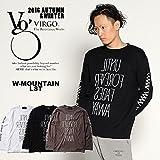 (ヴァルゴ)VIRGO W-mountain lst 2016 秋 冬 メンズ Tシャツ ストリート CHARCOAL 2