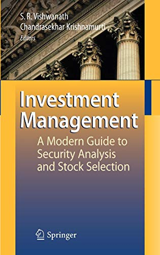 Download Investment Management: A Modern Guide to Security Analysis and Stock Selection 3540888012