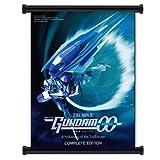 機動戦士ガンダム00アニメファブリックウォールスクロールポスター(81.28cmx106.68cm)