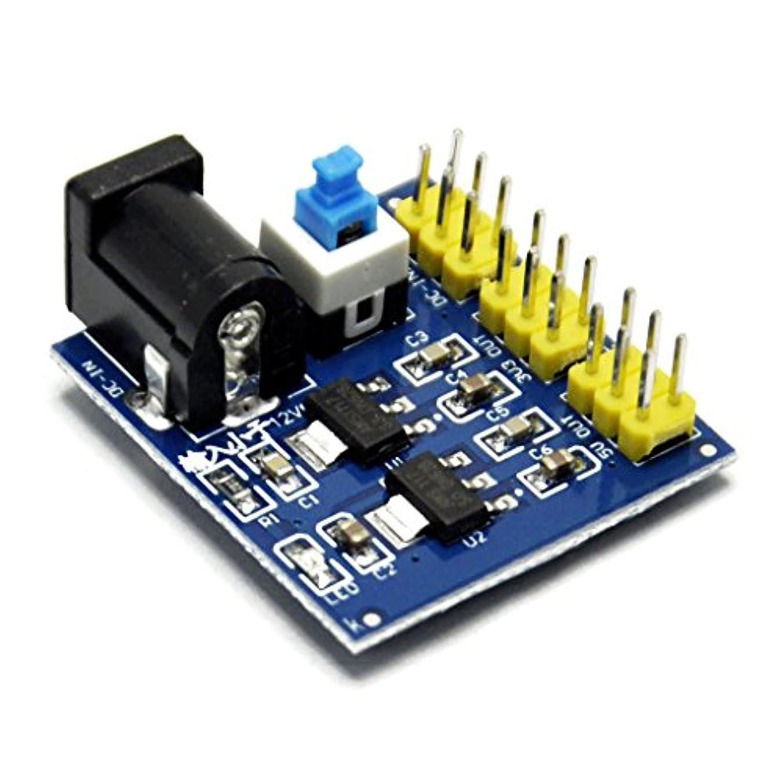 ペストリー太陽構造的Gikfun 12 V to 3.3 V 5 V電源供給モジュールmulti-output電圧コンバータDC - DC for Arduino ae1248