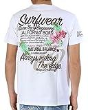 (ガッチャ) GOTCHA トロピカル 刺繍 Tシャツ 72G1006 ホワイト Lサイズ