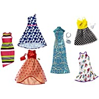 Barbie Fashions Dress Pack, 12 Pieces