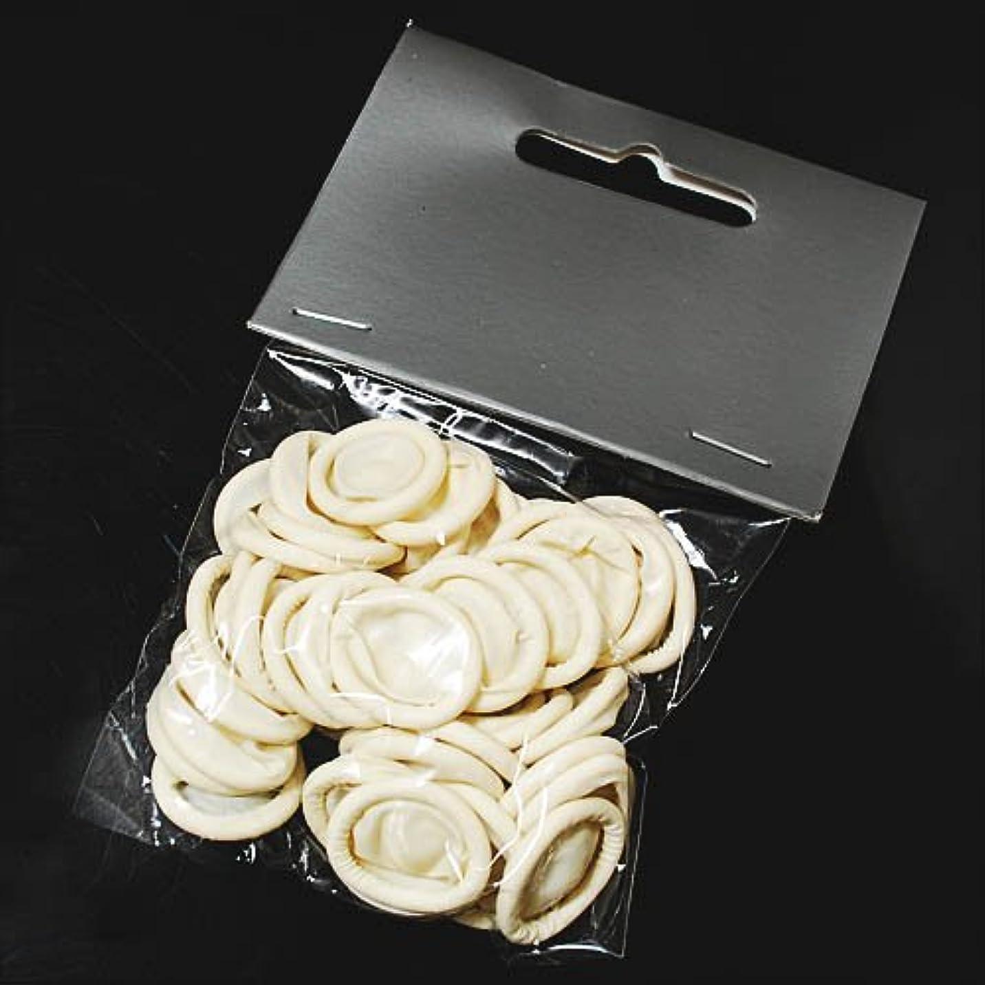 テレビフロー皮ジェルネイル のオフに使える ジェルネイルオフカバー [50個] フィンガーキャップ