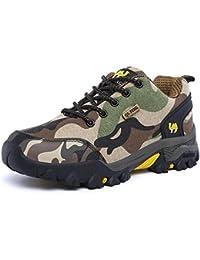 メンズ 登山靴 迷彩 トレッキングシューズ 防滑 ハイキングシューズ ローカット履きやすい 痛くない 男女兼用