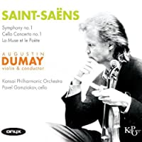 Saint-Saens: Symphony No.1, La Muse et le Poete, Cello Concerto No.1 by Pavel Gomziakov (2013-05-04)