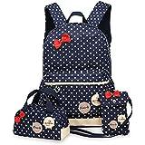 0323 Casual Fresh Backpack Summer Bag 3PCS