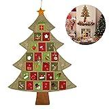 NICEXMAS NICEXMASハンギングクリスマスアドベントカレンダーカウントダウンクリスマスツリー