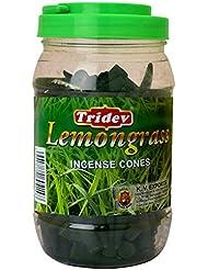 Tridev レモングラスフレグランスコーン500グラムジャー | 輸出品質