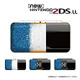 New ニンテンドー 2DS LL 対応 カバー ケース 香水 perfume 青色 ブラックキャップ