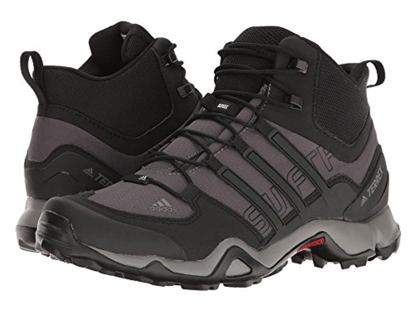 責める幾何学富豪(アディダス) adidas メンズブーツ?靴 Terrex Swift R Mid Granite/Black/Charcoal Solid Grey 11 (29cm) D - Medium