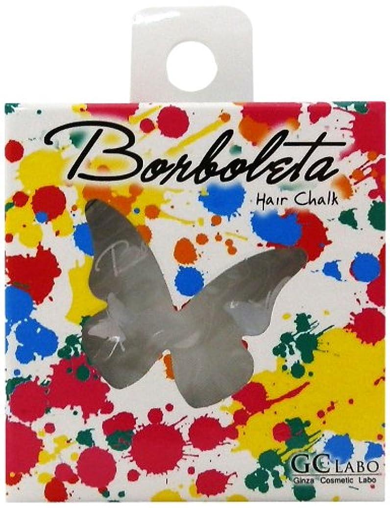 スティック財産知らせるBorBoLeta(ボルボレッタ)ヘアカラーチョーク ホワイト