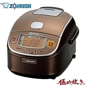 象印 圧力IH炊飯ジャー(3合炊き) ブラウンZOJIRUSHI 極め炊き NP-RL05-TA