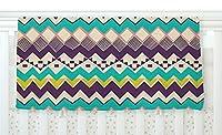 KESS InHouse Louise Machado Ethnic Color Teal Purple Fleece Baby Blanket 40 x 30 [並行輸入品]