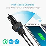 【Quick Charge 3.0】Anker PowerDrive Speed 2 (Quick Charge 3.0 & Power IQ対応 39W 2ポート カーチャージャー) iPhone / iPad / Galaxy S9, Xperia XZ1,その他Android各種 / IQOS 対応