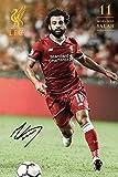 Mohamed Salah Poster Liverpool season 2017/2018 (61cm x 91,5cm)