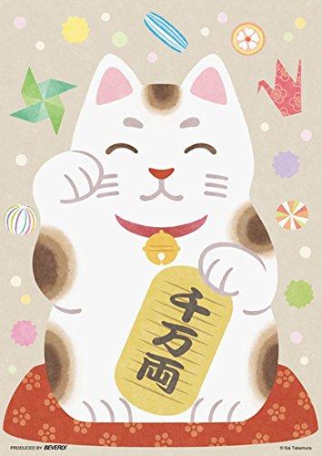 108ピース ジグソーパズル 和モダンぱずる 招ぱずる(18.2x25.7cm)の詳細を見る
