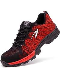 安全靴 作業靴 メンズ レディーススニーカー 登山靴 防滑 通気 耐磨耗 衝撃吸収 四季通用
