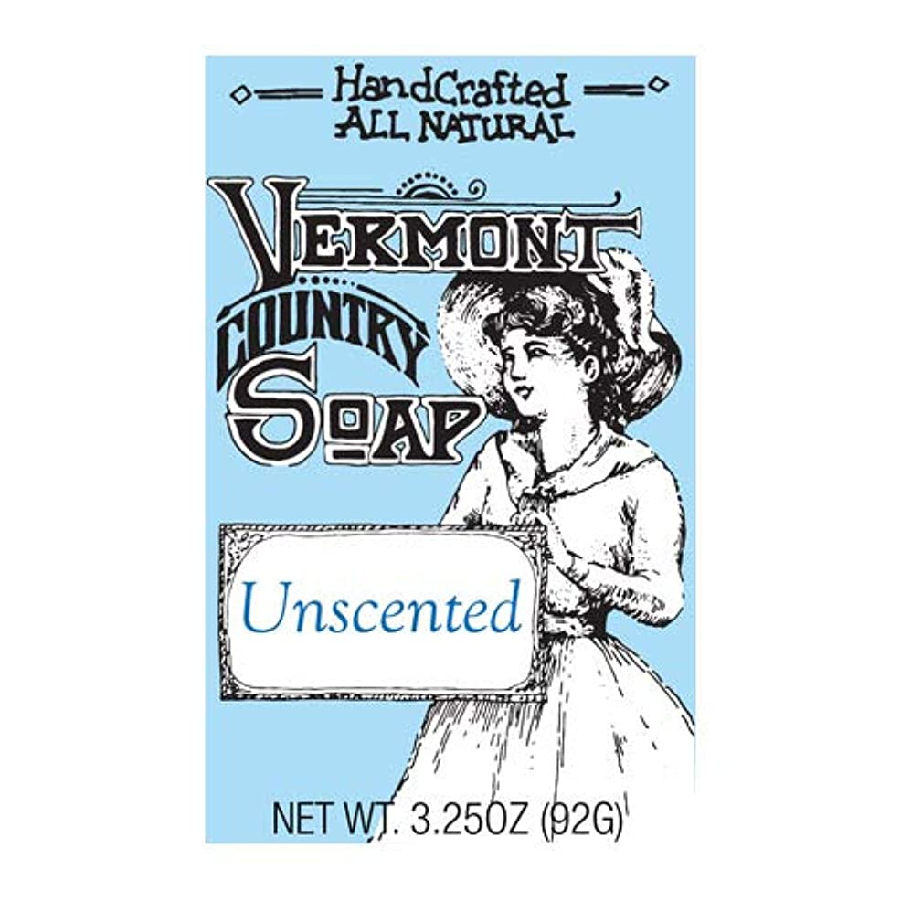 世代合唱団カルシウムVermontSoap バーモントカントリーソープ 6種類 (無香料) 92g オーガニック石けん 洗顔 ボディー