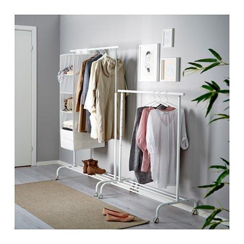 IKEA(イケア) RIGGA 30231631 洋服ラック, ホワイト