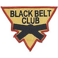 ブラックベルトClub三角形パッチ