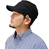 Nakota(ナコタ) スウェット ワークキャップ 帽子 男女兼用 Lサイズ ブラック
