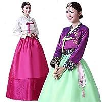 韓国民族衣装 チマチョゴリ ハロウィン 豪華セット 可愛い 6色選べる 可愛い マキシワンピース