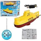 Swiftgood リモートコントロールボート船潜水艦観光usb充電防水電気rc aキーダイビングゲームのおもちゃギフト子供子供のおもちゃ