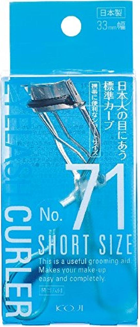 マイクロフォンフィット軽量No.71 アイラッシュカーラー (ショートサイズ) 33mm幅