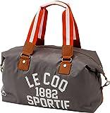 [ルコックスポルティフゴルフ] Le coc sportif Golf ボストンバッグ QQL2201 N361 ((N361)チャコールグレー)