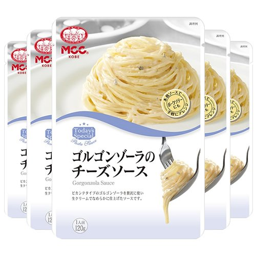エム・シーシー食品 ゴルゴンゾーラのチーズソース 120g×5袋