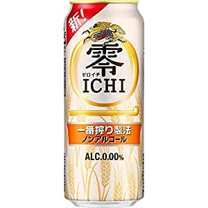 キリン 零ICHI ノンアルコール・ビールテイスト飲料 500ml×24本 [ ノンアルコール ]