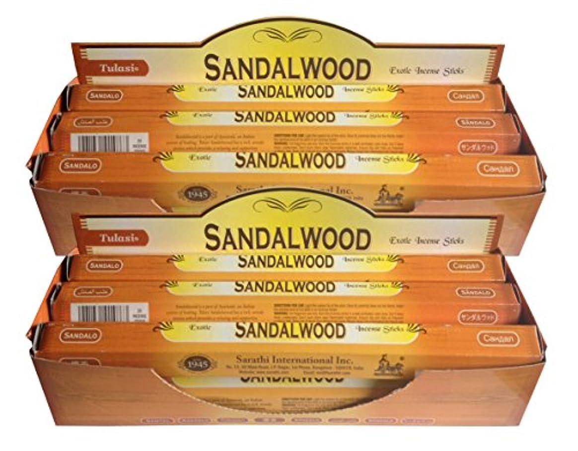 米ドルスリル変装したトゥラシ お香 サンダルウッド 約20本×12個セット