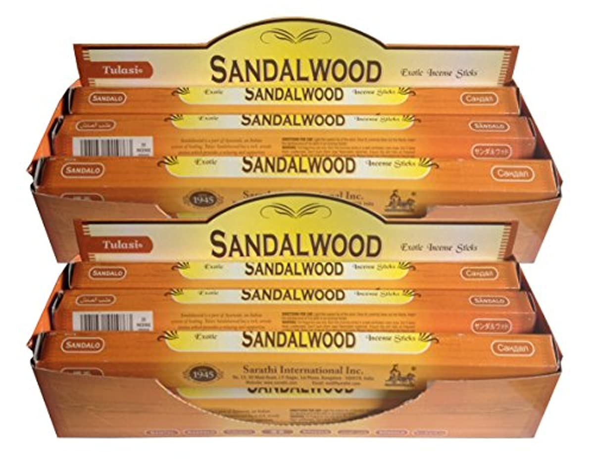 洗うサンプルボトルネックトゥラシ お香 サンダルウッド 約20本×12個セット