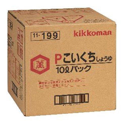 キッコーマン 醤油 P 濃口 10L