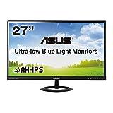 ASUS 27型フルHDディスプレイ ( AH-IPS / 広視野角178° / ブルーライト低減 / HDMI×2,D-sub×1 / スピーカー内蔵 / ブラック / 3年保証 ) VX279H-J