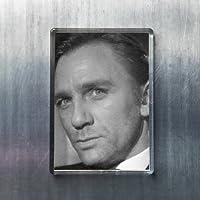 DANIEL CRAIG - オリジナルアート冷蔵庫マグネット #js004