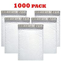 officekit PolyバブルMailersパッド入り封筒自己シールパッケージマテリアルShipping Suppliesメーリング封筒バッグ #2 8.5X12 1000 Pack